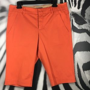 7cb4ff3b26 Vince Shorts | Orange Side Buckle Bermuda Short 10 | Poshmark